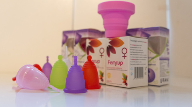 La ventaja económica de la copa menstrual