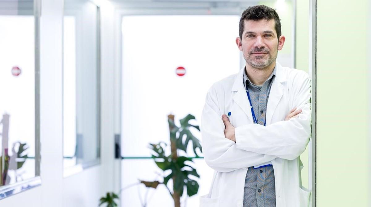 Joaquim Puntí, psicólogo Hospital Parc Taulí, de Sabadell.