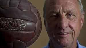 Cruyff, en una entrevista con El PERIÓDICO en mayo del 2011.
