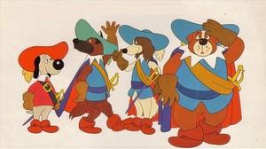 DArtacán y los tres Mosqueperros.