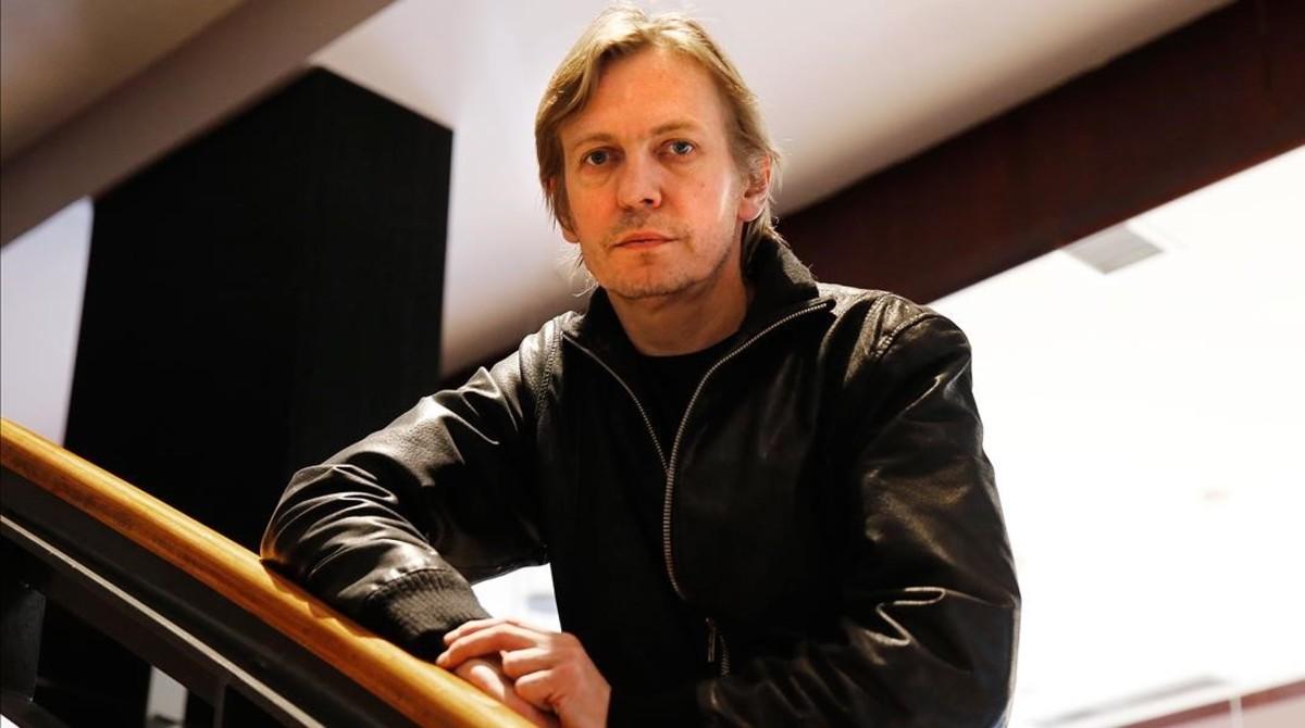 El director de cine lituano Sharunas Bartas, este jueves en Barcelona.