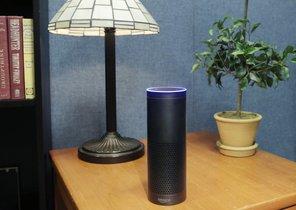 El dispositivo Amazon Echo.