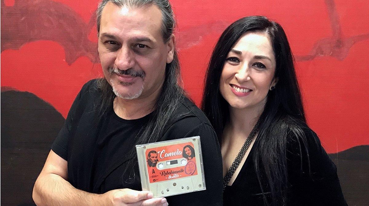 El dúo Camela, Dioni MartínyÁngeles Muñoz, en una imagen de archivo.