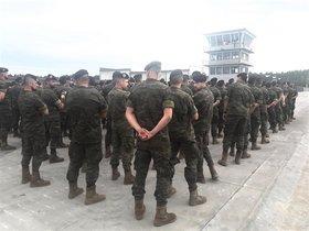El Ejército, en una foto de archivo.