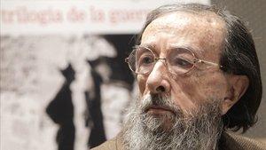 El escritor Juan Eduardo Zúñiga, en el 2011.