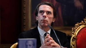 El expresidente del Gobierno y presidente de FAES, José MaríaAznar.