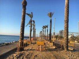 Adif comença les obres per protegir la via de tren entre Mataró i Cabrera