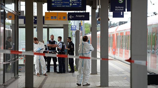 Alemania desvincula del yihadismo el ataque en la estación de tren de Baviera