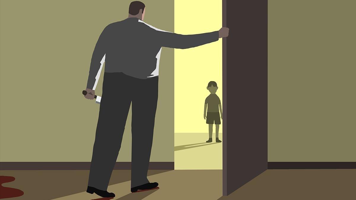 Assassins de dones, ¿bons pares?
