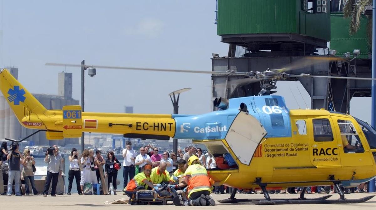 Unhelicópterodel SEM.