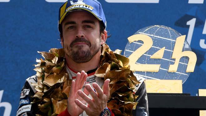 Fernando Alonso gana en Le Mans el cuarto título mundial de su carrera.