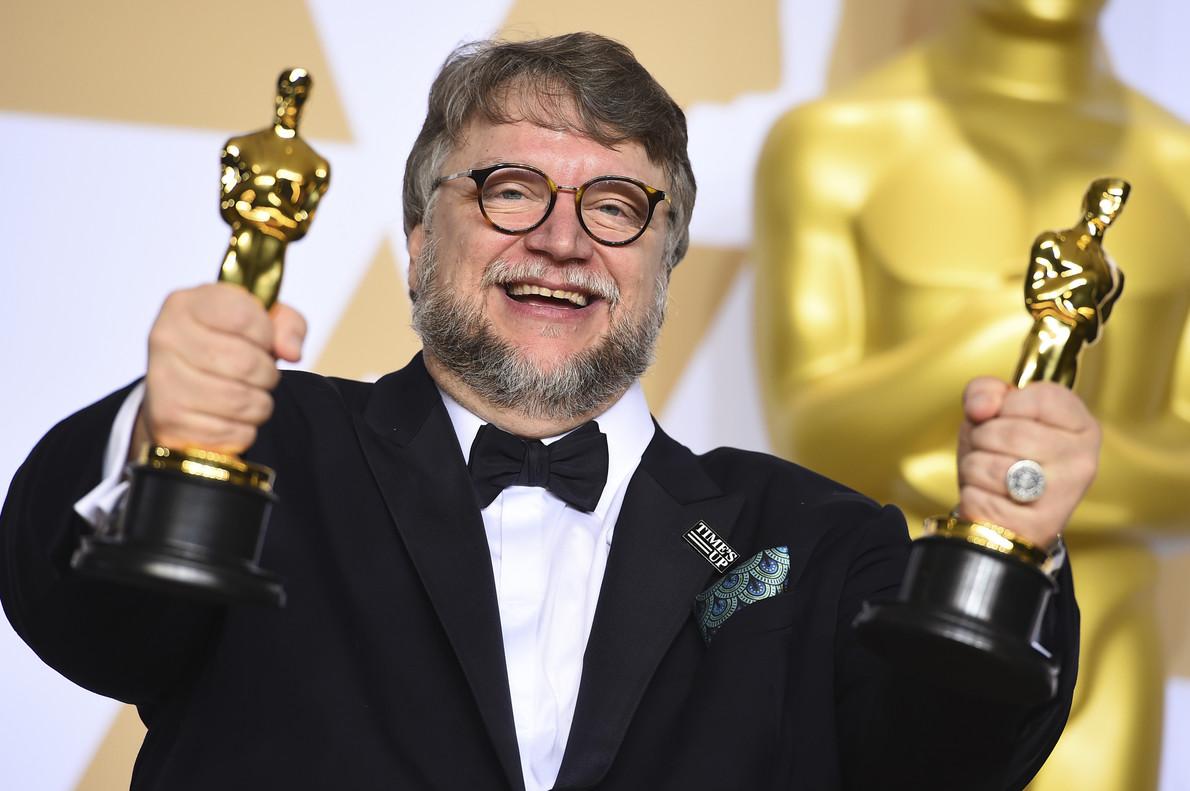 Guillermo del Toro, con los Oscar a la mejor película y a la mejor dirección por La forma del agua.
