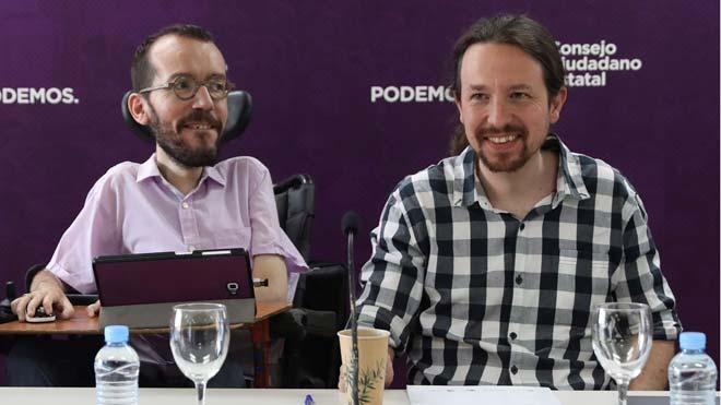Iglesias aparta a Echenique de la Secretaría de Organización de Podemos.