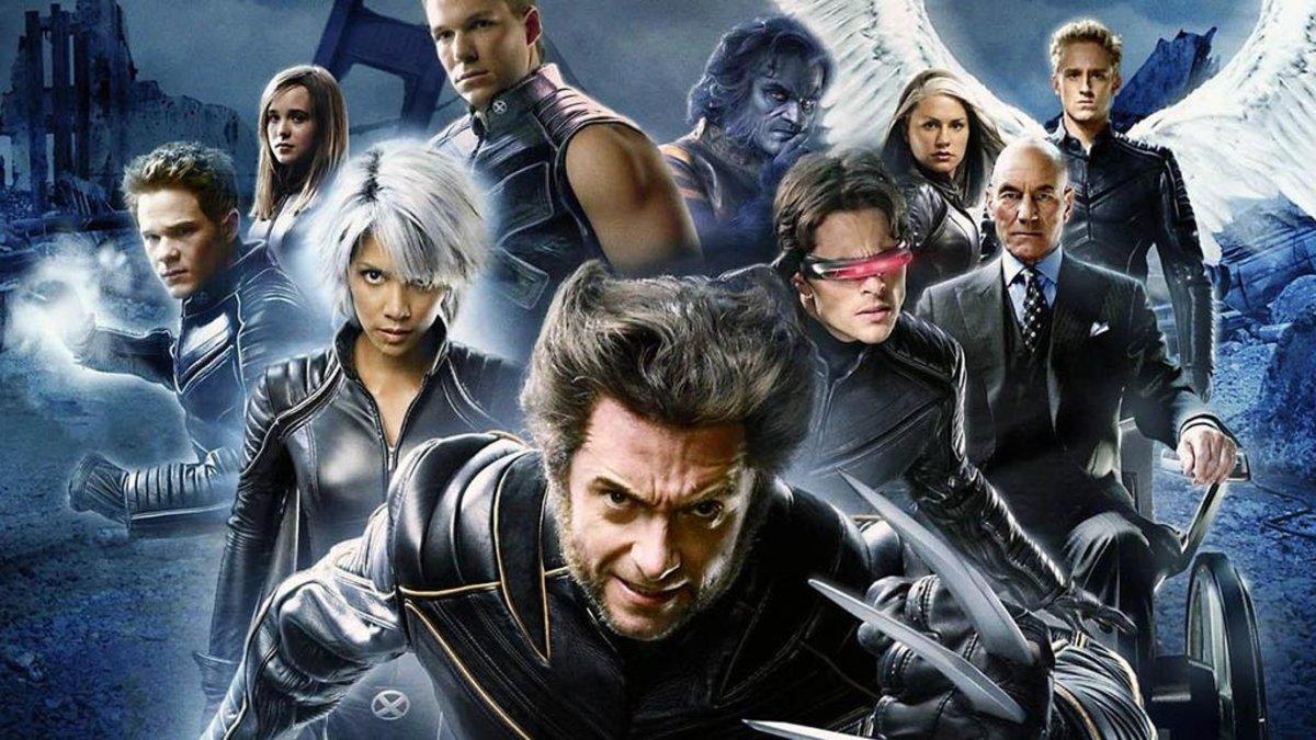 Imágenes de los X-men.