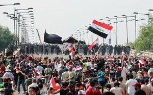 Les protestes a l'Iraq sumen ja 400 morts en dos mesos