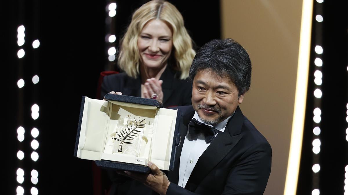 Cannes corona amb la Palma d'Or el director japonès Hirozaku Koreeda per 'Shoplifters'