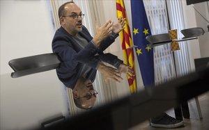 Carles Campuzano, durante la entrevista.