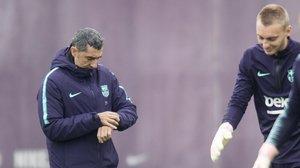 Valverde: «Haurem d'oferir la millor versió davant de l'Atlètic»