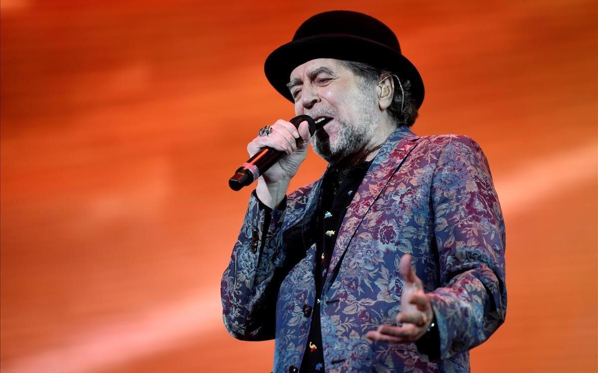 Joaquín Sabina, el pasado domingo en el Movistar Arena de Buenos Aires.