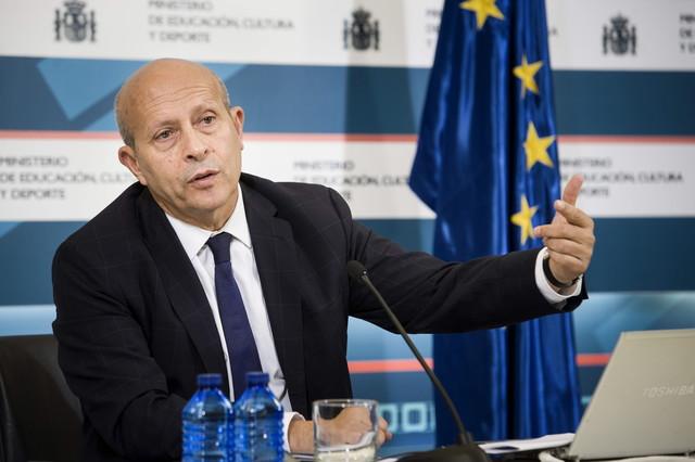 José Ignacio Wert, el pasado lunes, en la presentación del nuevo curso escolar.