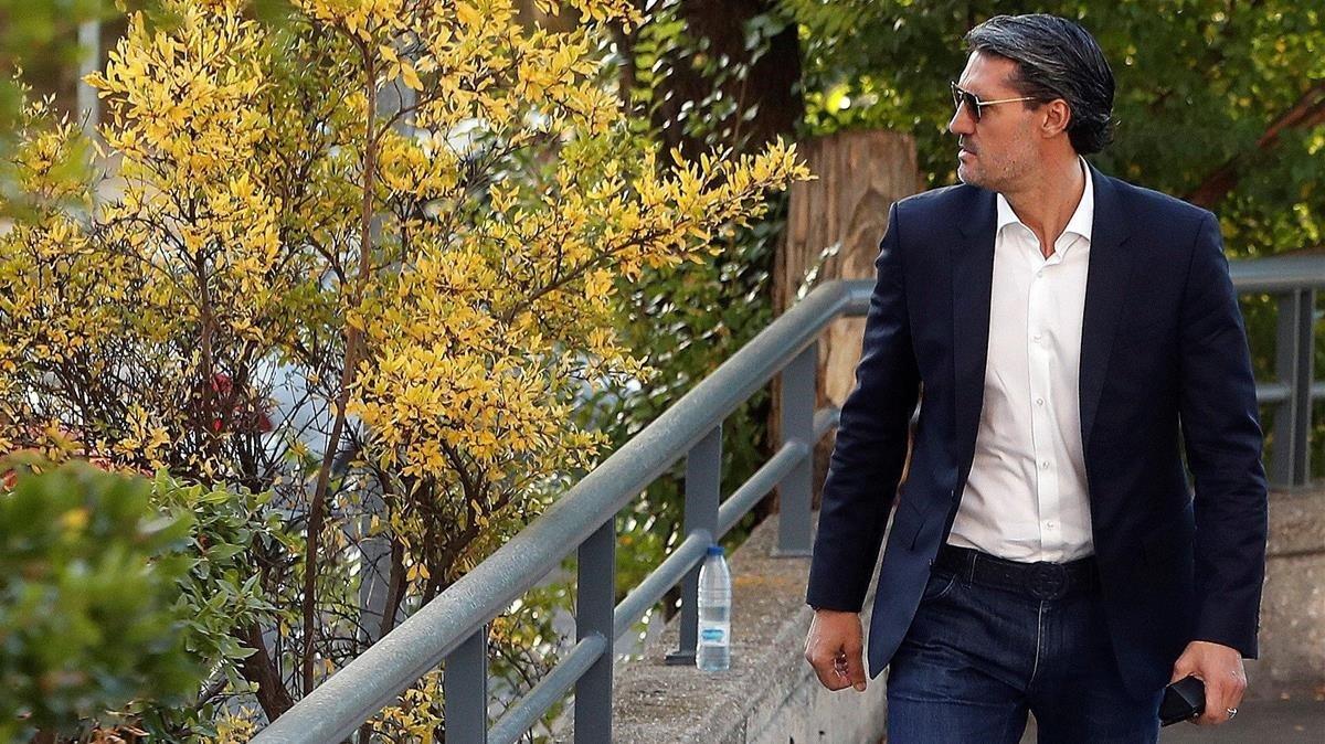 Caminero acepta 4 meses de cárcel por blanqueo de dinero del tráfico de drogas