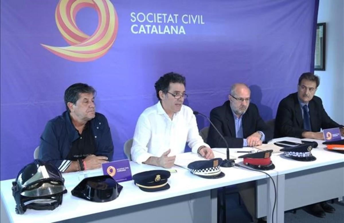 El vicepresident de Societat Civil demana prohibir als partits independentistes anar a eleccions