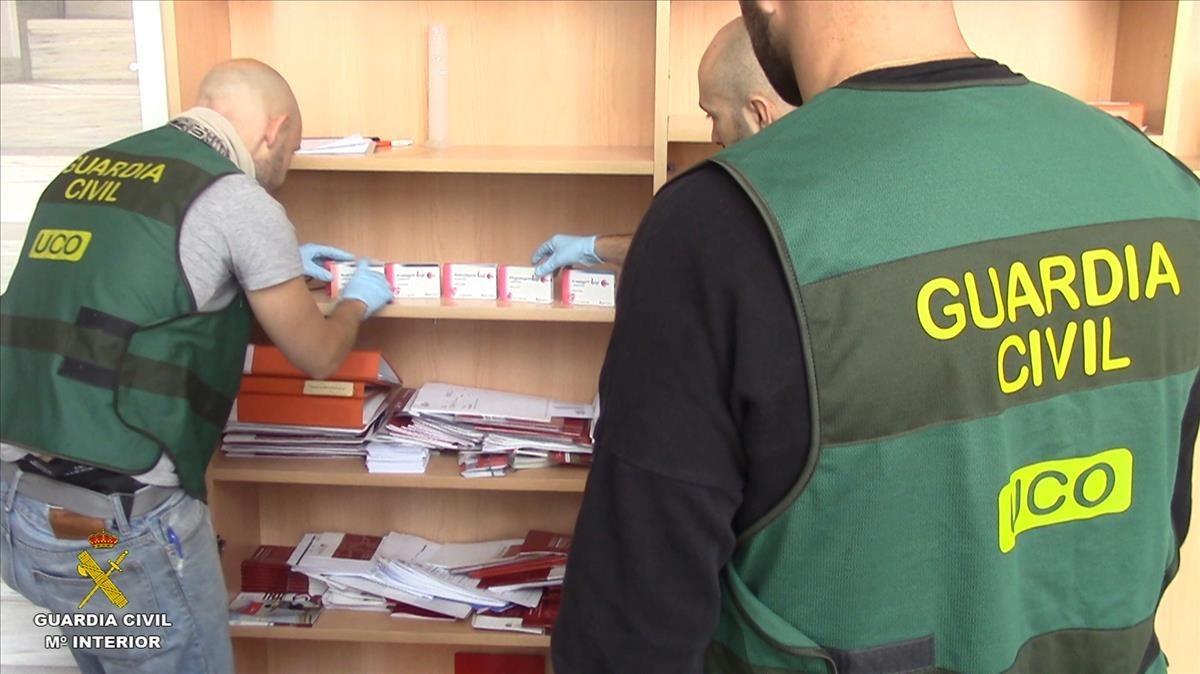 Un laboratorio de Teruel distribuía fármacos ilegales por varios continentes