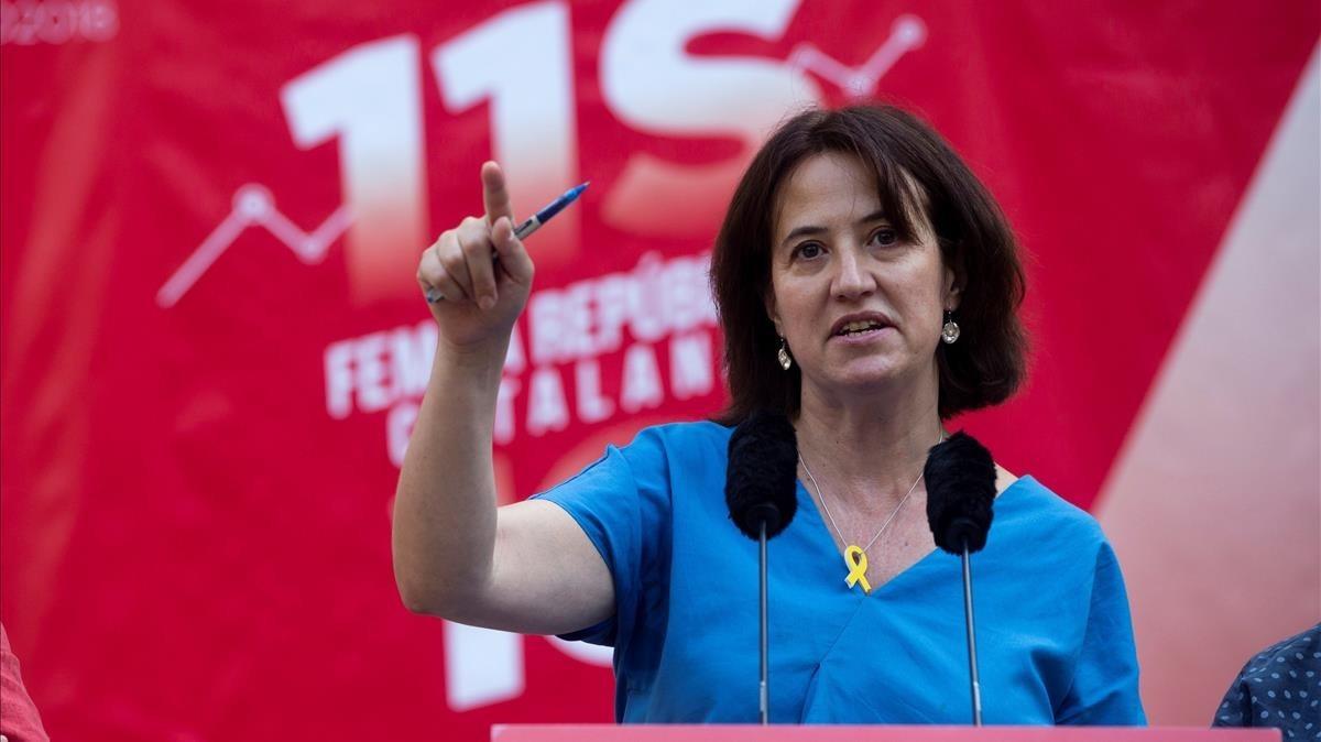"""""""Que Paluzie pida la unidad de los independentistas a los cuatro vientos no contribuye a que la haya"""""""