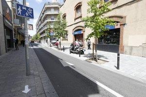 Las calles de Lluís Pascual Roca y Francesc Macià de Sant Boi se cerrarán al tráfico los viernes y sábados