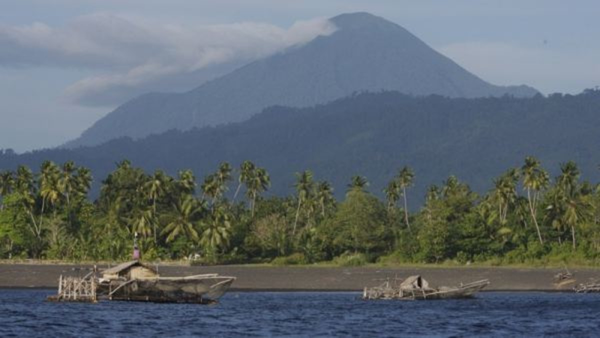 Las islas Célebes, en Indonesia
