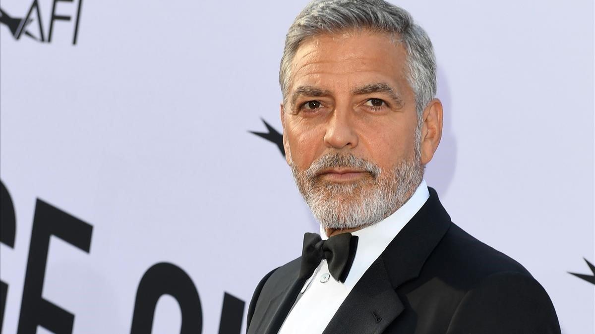 Clooney: «El racisme és la pandèmia dels Estats Units»