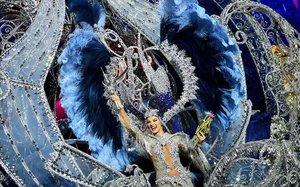 Sara Cruz, reina al Carnaval de Santa Cruz de Tenerife