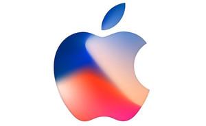 Logo de Apple de la invitación a la presentación del iPhone 8.