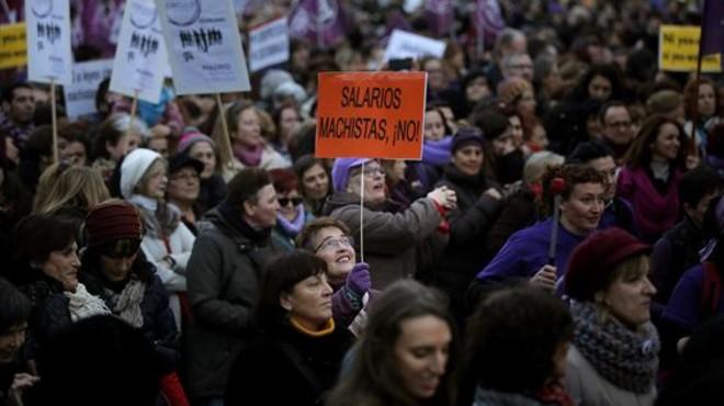 La igualdad salarial no va con Rajoy