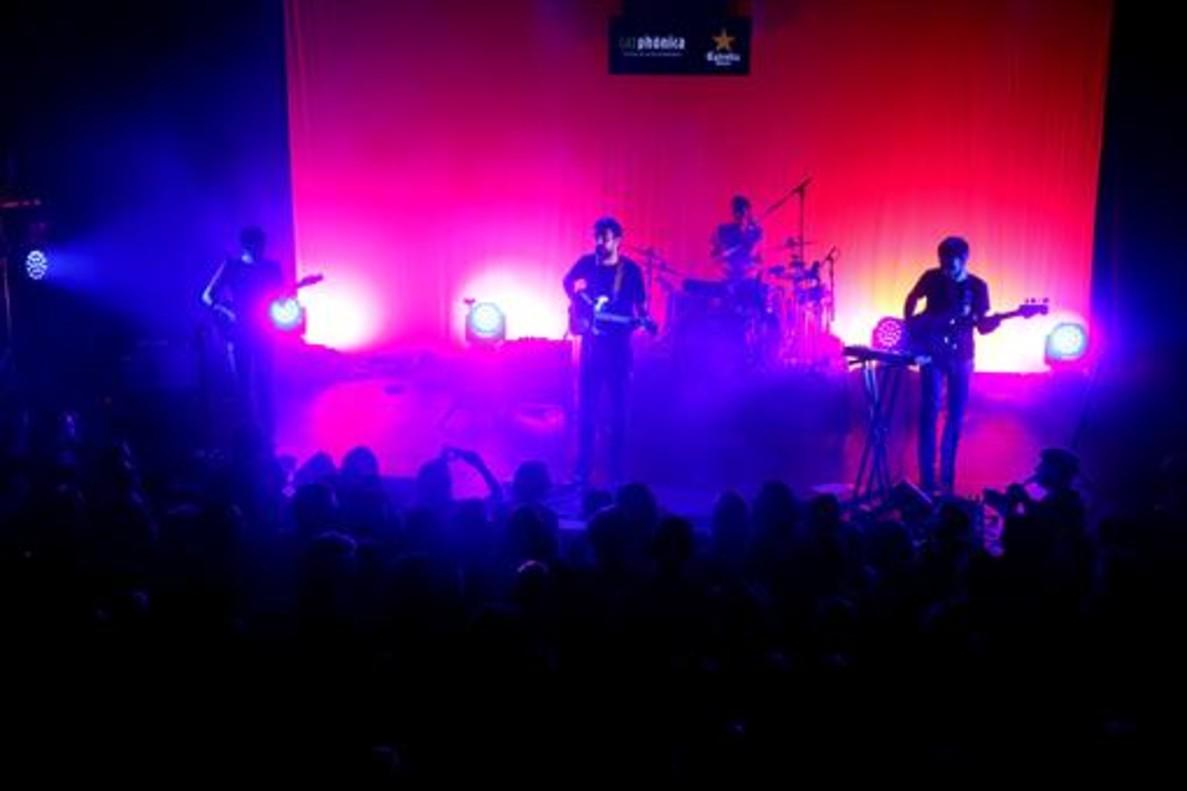 Manel, en el primer concierto de la gira de 'Jo competeixo'.