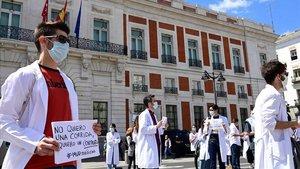 Los médicos reclaman confinamientos selectivos no solo en Madrid
