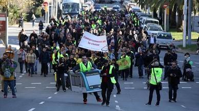 Colau presiona a ERC para que apoye un primer tramo de tranvía de Glòries a Sant Joan