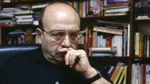 El escritor Manuel Vázquez Montalbán.
