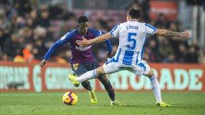 Les claus tàctiques del Barça-Leganés: El 'coet Ousmane'