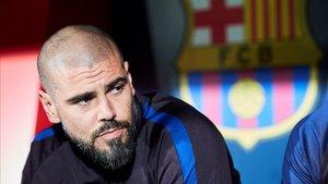 Víctor Valdés, expulsat a la segona jornada