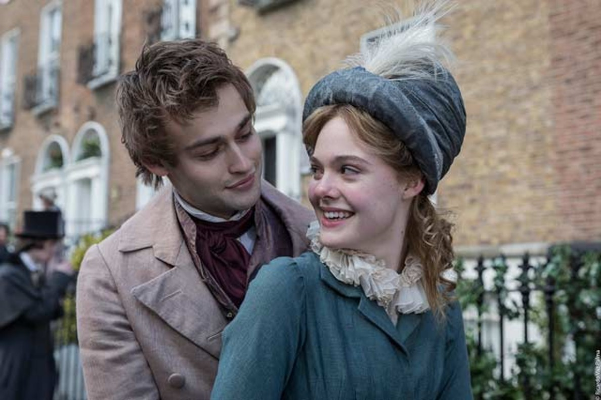 Douglas Booth y Elle Fanning interpretan a Percy y Mary Shelley.