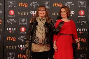 Massiel, en la gala de los premios Goya, el pasado febrero.