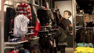 Tienda de moda infantil.