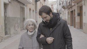 Montserrat Carulla y Ricard Ustrell, en el Quatre gats sobre la memoria histórica.