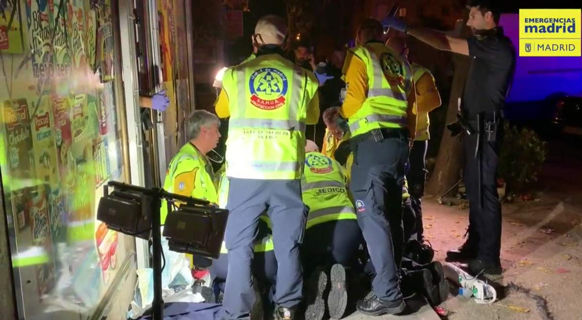Muere un hombre chino al ser apuñalado en su tienda de Madrid