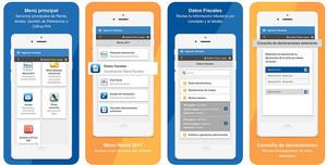 La nueva app de la Agencia Tributaria.