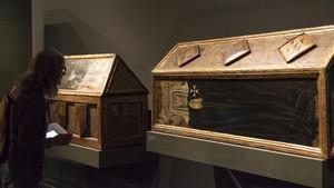 Obras de Sijena en el Museu de Lleida.