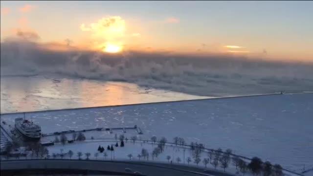 Una ola de frio extrema deja ya ocho muertos en Estados Unidos. La mayoría por accidentes de tráfico.