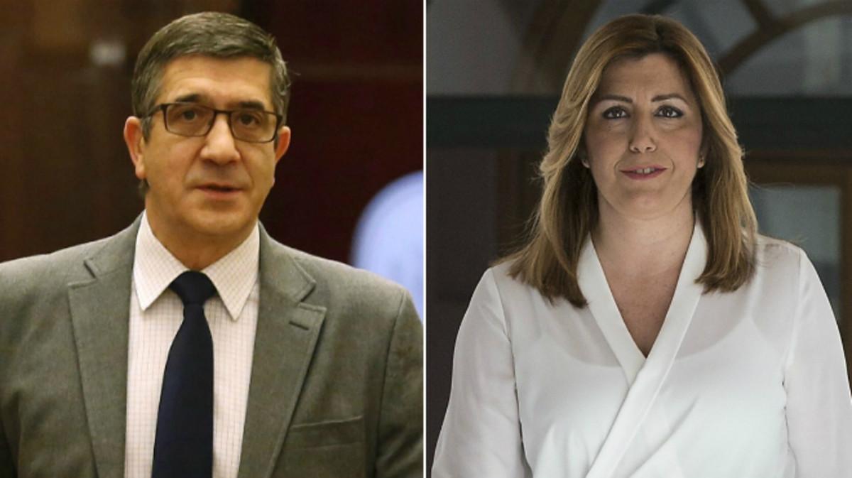 Patxi López y Susana Díaz.