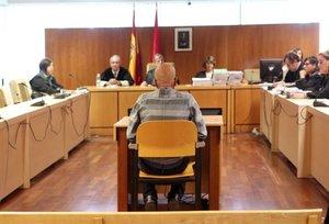 Pedro Luis Gallego durante su juicio.